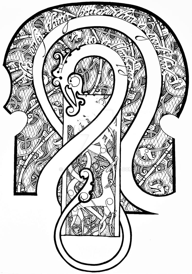 Viking multi-style partial sleeve tattoo by one-rook on ...