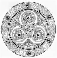 B+W Insular Spiral with La Tene touches
