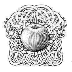 Rambo Apple Viking tattoo
