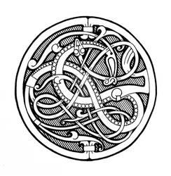 Pitney brooch tattoo design
