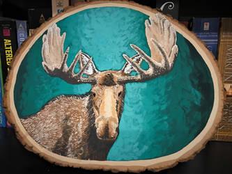Moose painting!