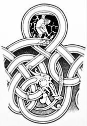 Thor and Jormungandr Commish