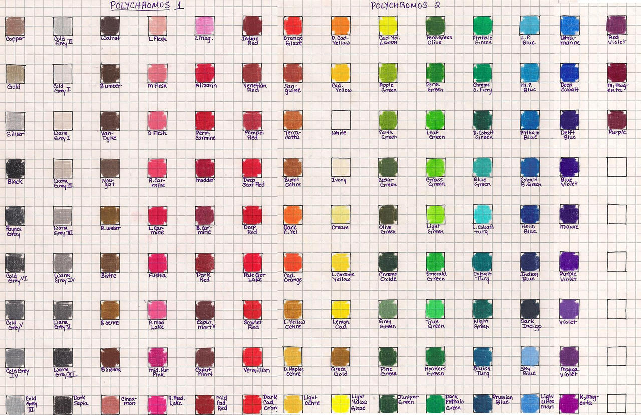 Faber castell polychromos color chart by josephine9606 on deviantart faber castell polychromos color chart by josephine9606 faber castell polychromos color chart by josephine9606 nvjuhfo Image collections