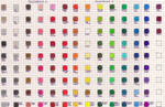 Faber Castell Polychromos Color Chart