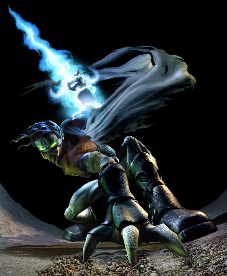 raziel from LoK soul reaver 8D by specter-fangal