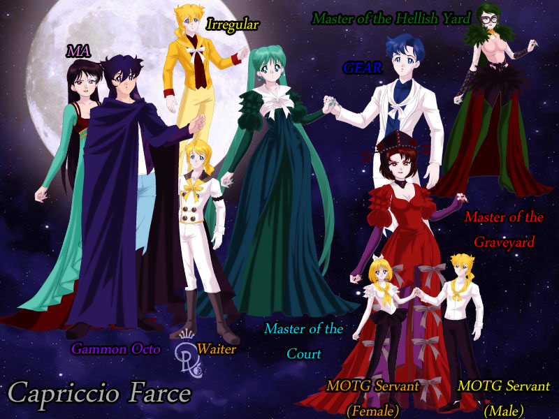 Capriccio farce by s earth girl on deviantart for Farcical characters