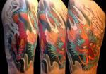 Dragon in progress by TimOrth