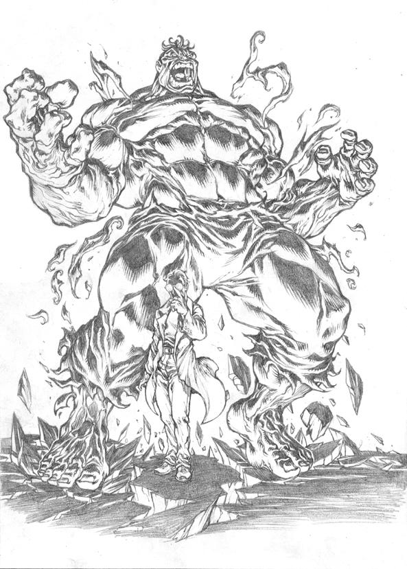 Hulk by pant