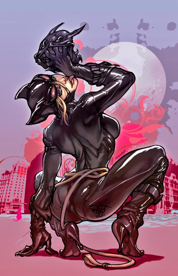 Catwoman by Paolo Pantalena