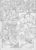 pencil page by pant