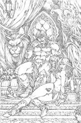 Conan and the Red Hot Sonja by pant