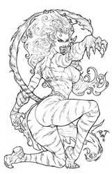 From Marvel universe: Tigra