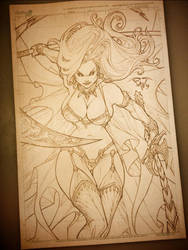 Lady Death by pant
