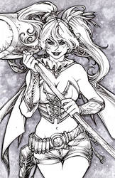 Harley Quinn by pant