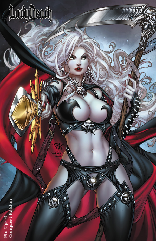 Lady Death Echoes cover.