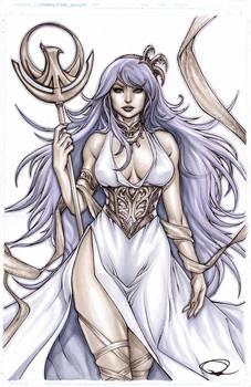 Athena from Saint Seiya