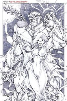 Thanos and mistress Death