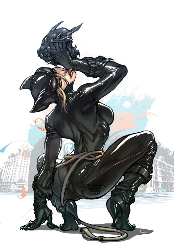 Catwoman In White By Pant On Deviantart-3713