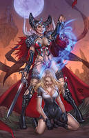 Grimm fairy tales white queen cover by pant