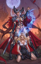 Grimm fairy tales white queen cover
