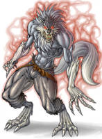 Wolf Colored by pant