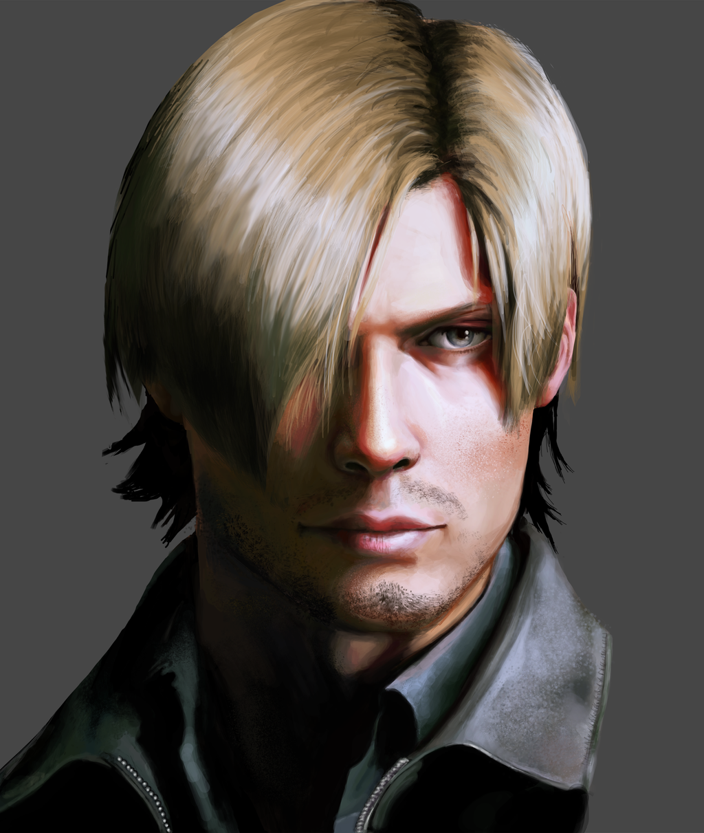 Leon Scott Kennedy Resident Evil 6 By Alinalarae On Deviantart