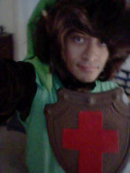 NES Link cosplay part 14 by DeathLee28