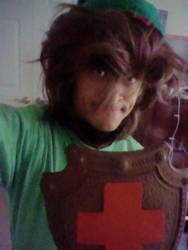 NES Link cosplay part 15 by DeathLee28
