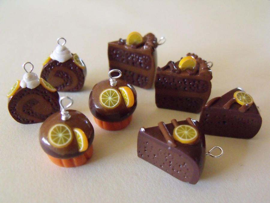 Chocolate Orange Desserts by Naomimon-Alpha on DeviantArt