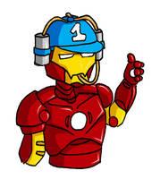 Iron Helmet by Naomimon-Alpha