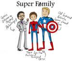 Super Family - Marvel
