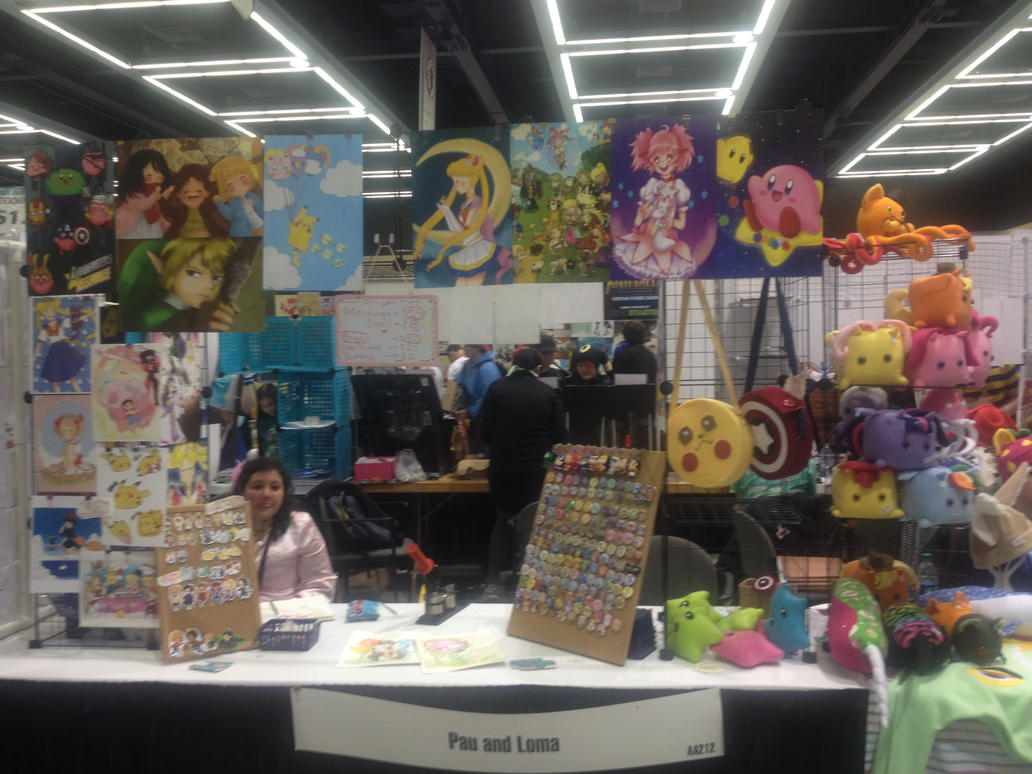 Artist Alley Table by PauAndLoma