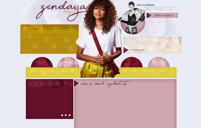 FREE DESIGN ft. Zendaya by AnnaAka