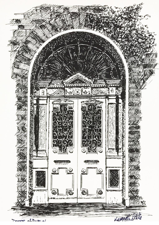 Dublin doorway by littlestudio