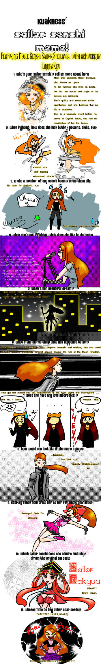 Otaku Senshi Meme: Stellavia