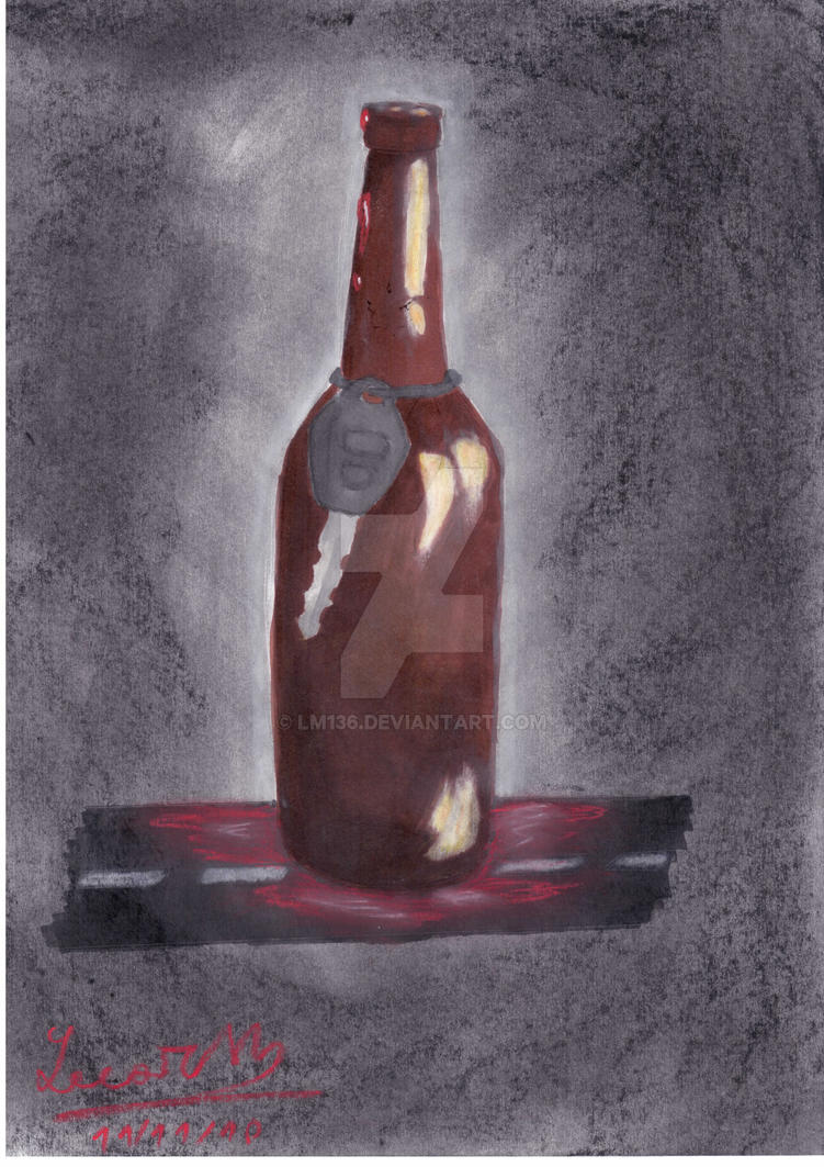 Death in a Bottle by Lm136