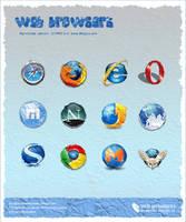 Web Browser Wrinkle by kingyoART