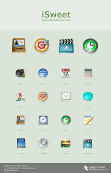 iSweet--Android icons