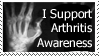 Arthritis Awareness Stamp by Fairytale-Heart
