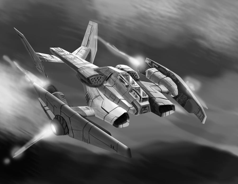 Gunship by danielcherng