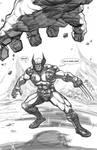 Wolverine/Hulk Pinup