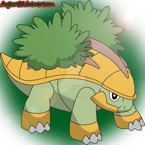 Grotle Pokemon Sinnoh Starterseries By Mariicreations93 On Deviantart