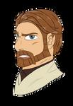 .:c:. Obi-Wan Kenobi Clone Wars by MariiCreations93