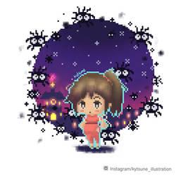 Pixel chihiro