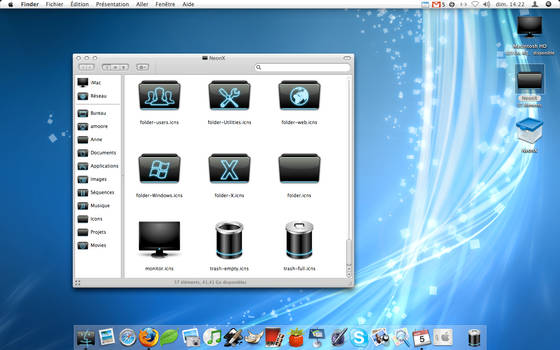 NeonX Desktop
