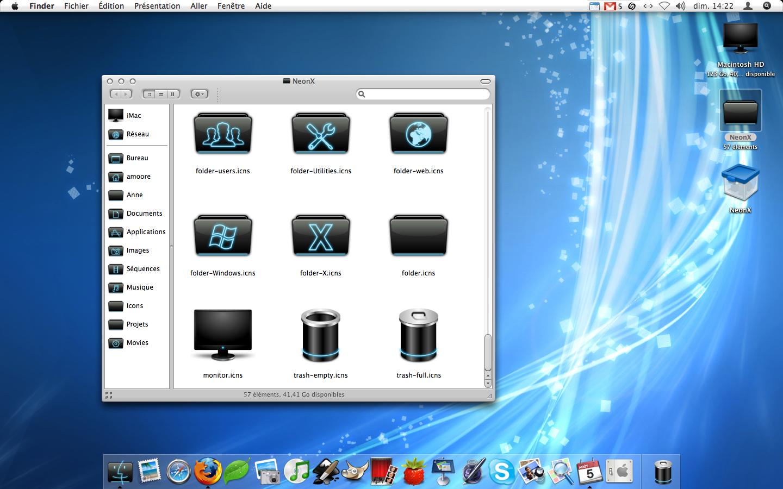 NeonX Desktop by sa-ki