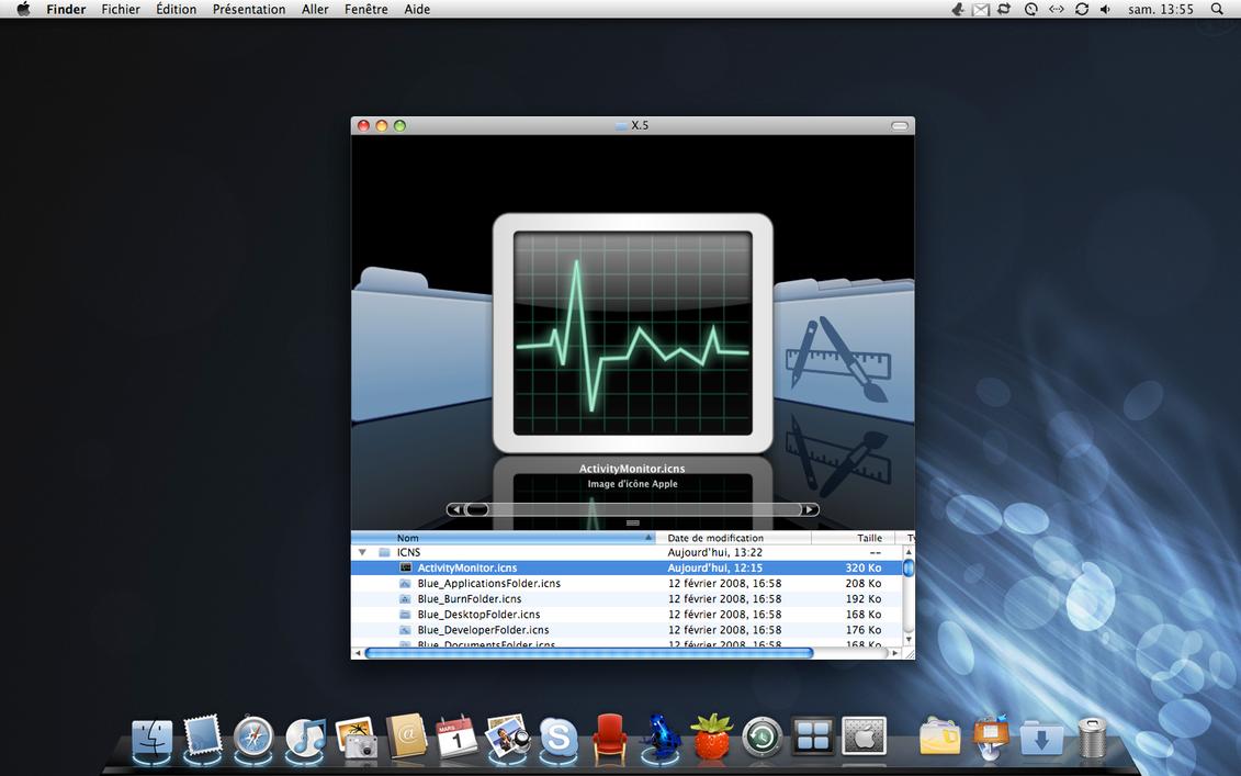X.5 Desktop by sa-ki