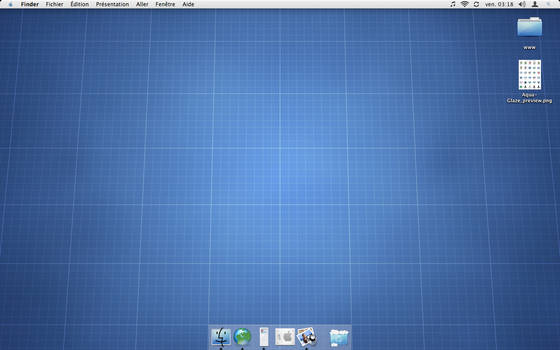 Aqua Glaze Desktop
