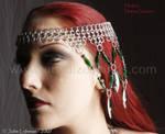 Headdress - three quarter view