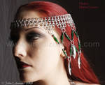 Headdress - three quarter view